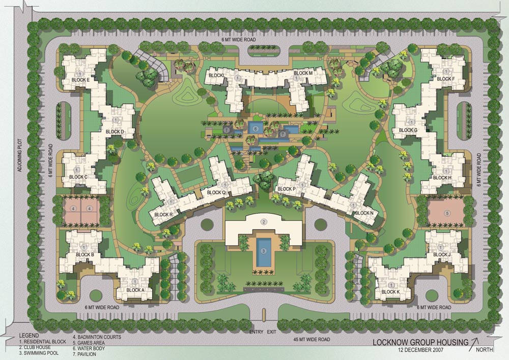 Lovely Site Plan